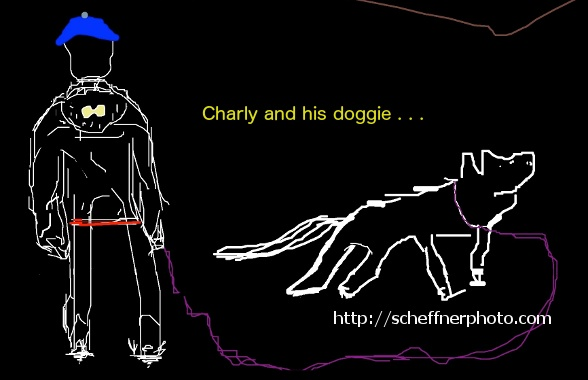 CH and doggie - digital